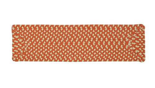 """Montego MG29 Stair Tread (Set of 13), 8"""" by 28"""", Tangerine"""