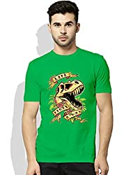 Life finds a way Green T-shirt