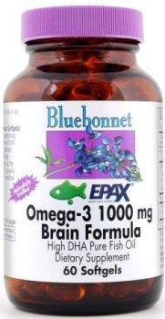 Bluebonnet Natural Omega-3 Brain Formula - 60 - Softgel