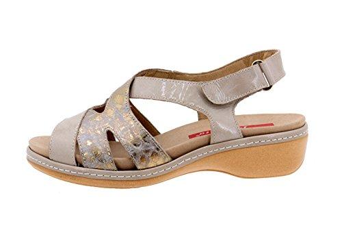 Scarpe donna comfort pelle Piesanto 6813 sandali soletta estraibile comfort larghezza speciale
