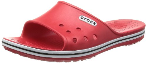 Crocs Unisex-Adult Crocband Slide Low Profile Thong Sandals 15692-610-740 Red 13 UK, 47 EU, 13 US, Regular