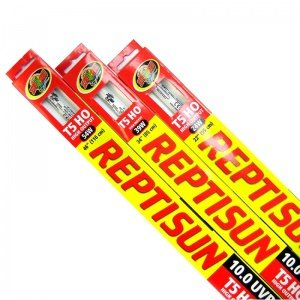 Zoo Med Reptisun T5 Ho 10 0 Uvb High Output Bulbs: 15 Watt 12 Long