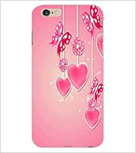 PrintDhaba Heart D-2105 Back Case Cover for APPLE IPHONE 6S (Multi-Coloured)
