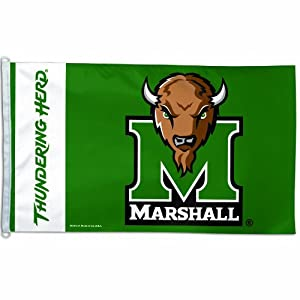 Buy NCAA Marshall Thundering Herd 3-by-5 foot Flag by WinCraft