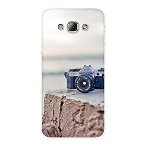 Special Camera on Rock Multicolor Back Case Cover for Galaxy A8