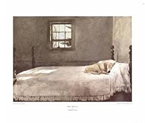 Master Bedroom By Andrew Wyeth Highest Quality Art Print Poster Size 19 X
