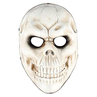 Payday2 Party Mask,SALICO Game Skull Halloween Resin Costume Mask