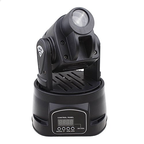 Riorand®Mini Spot 15W Led Moving Head Club Dj Disco Stage Spot Light