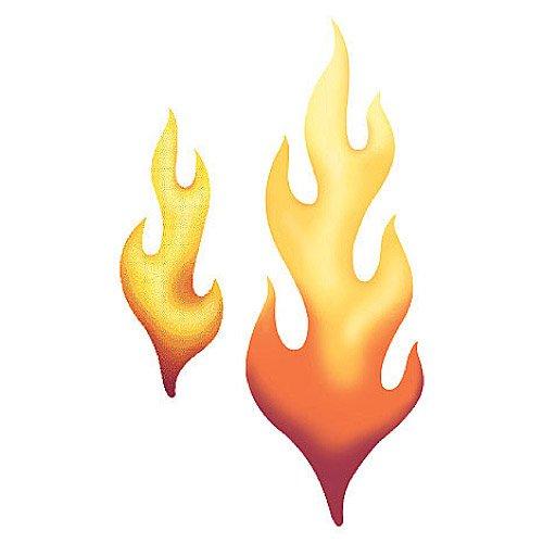 Wallies 12200 Flames Wallpaper Cutout - 1
