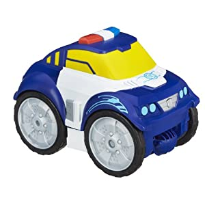 Playskool Heroes Transformers Rescue Bots Flip Changers Chase the Police-Bot Figure