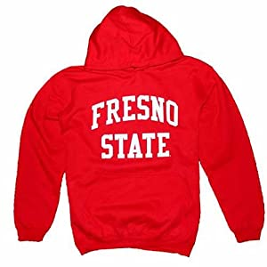 Fresno State Bulldogs Hooded Sweatshirt, Red by SportShack INC