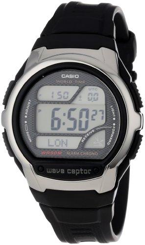 Casio Men's WV58A-1AV Waveceptor Atomic Digital Watch