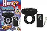 Bundle Hero Remote Wireless Cockring Black