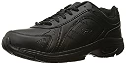 Dr. Scholl\'s Men\'s Sprint Health Care and Food Service Shoe, Black, 10.5 W US