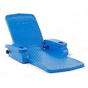 Super-soft Fully Adjustable Pool Recliner by TRC Recreation