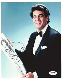 Placido Domingo Autographed 8x10 Photo PSA/DNA #Q91343