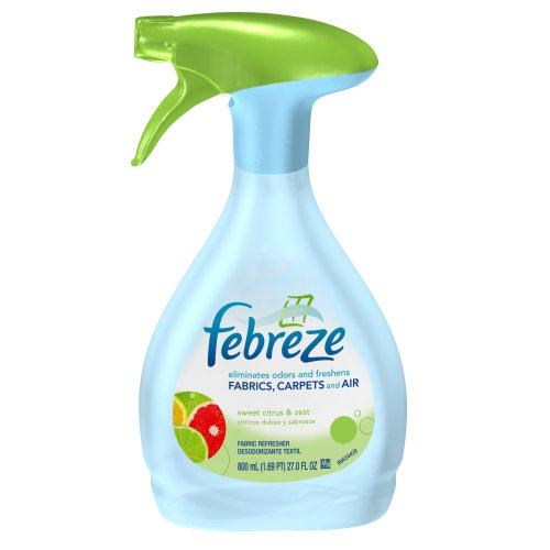 Febreze Fabric Refresher, Sweet Citrus and Zest, 800 mL, 27-Ounce