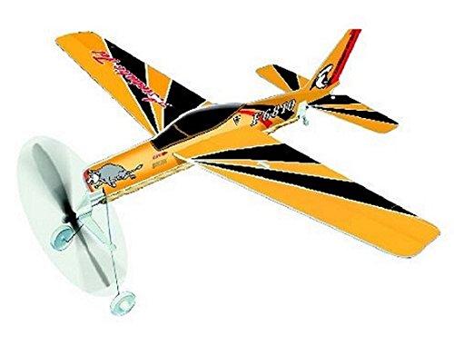 SF-260 Rubber Band Powered Kit Light Model Trainer Aereo: Lyonaeec 05004 Kit R4