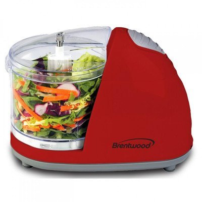 Brentwood Mini Food Chopper, Red Small Appliances