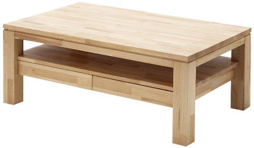 tavolino Robas Lund 58721E5 Gordon, 1 vassoio e cassetti 2, 115 x 70 x 45 cm in rovere oliato / faggio selvatico