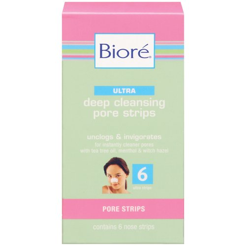 Ultra Deep Cleansing Pore Strips by Biore, 6 Count