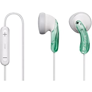 Sony DRE10iP/GRN Headphones (Green) (Discontinued by Manufacturer)
