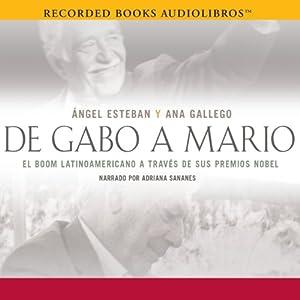 De Gabo a Mario Audiobook