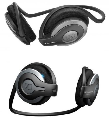 Sennheiser MM 100 Bluetooth Headset - Black/Gray Sennheiser Bluetooth Headsets autotags B0019UX796