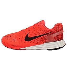 Nike Men\'s Lunarglide 7, BRIGHT CRIMSON/BLACK-GYM RED-DP BRGN, 10.5 M US