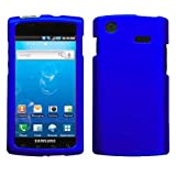 Blue Rubberized Hard Case for Samsung Captivate i897 (Galaxy S) AT&T