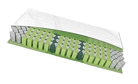 Schlaraffia Maxi 220 TFK plus 100x220 H2 7-Zonen Taschenfederkernmatratze