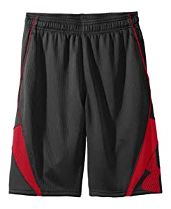 "Under Armour Big Boys' UA EZ Mon-Knee 10"" Basketball Shorts Youth Small Black"