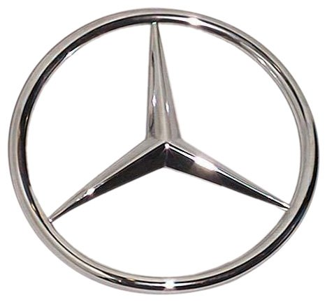 Oes genuine mercedes benz trunk star emblem vehicles parts for Mercedes benz star logo
