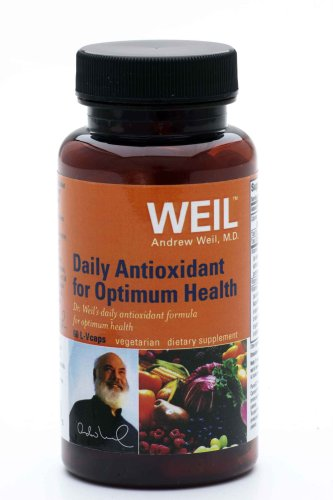 Weil Nutritional Daily Antioxidant for Optimum Health, Vegi-Caps, 60-Count Bottle