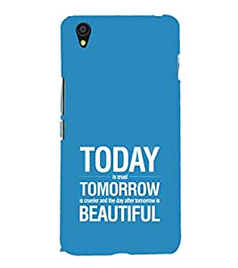 EPICCASE Future is success Mobile Back Case Cover For OnePlus X (Designer Case)