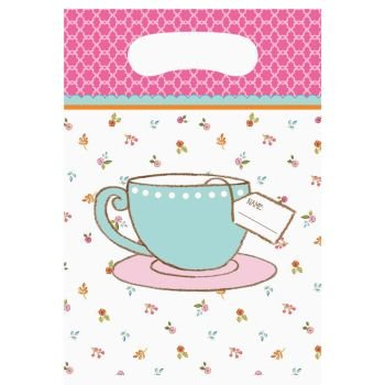 Tea Time Party Treat Bags (8 ct)