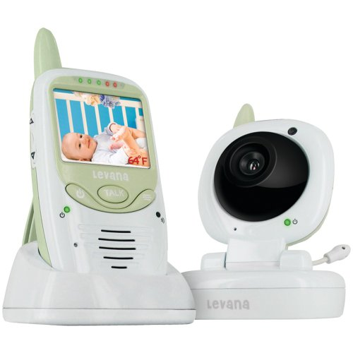 Levana Wireless Video Baby Monitor front-921458