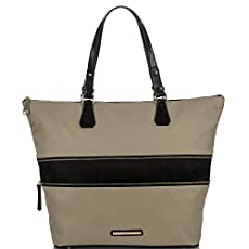 Casey Tote<br>Black Bayview Color Block