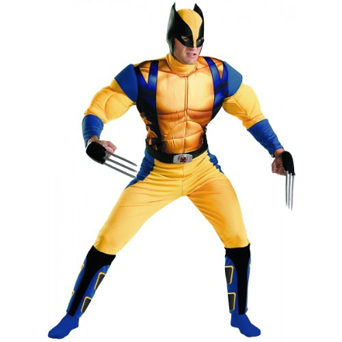 Wolverine Origins Classic Muscle Costume - X-Large - Chest Size 42-46