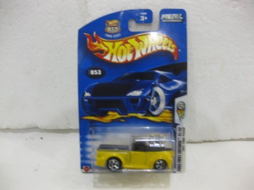 2003 First Edition #41 Of 42 1941 Ford Pickup In Yellow Diecast 1:64 Scale Collector #53 By Hot Wheels