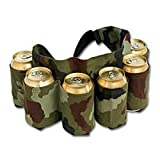 Redneck Beer and Soda Can Holster Belt, Camouflage