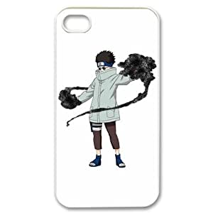 ePcase Aburame Shino in Naruto Printed White Hard Case Cover for Apple iPhone 4&4S - Always Forgotten by Naruto