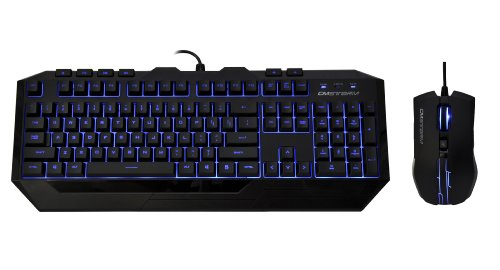 Get CM Storm Devastator - LED Gaming Keyboard and Mouse Combo Bundle (Blue Edition)