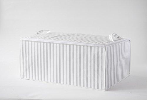 Unterbettkommode-RAN7505-wei-grau-gestreift-70cm-lang-x-50cm-breit-x-30cm-hoch
