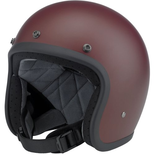 Large Flat Primer Red Bonanza DOT-Approved Helmet by Biltwell, Inc.