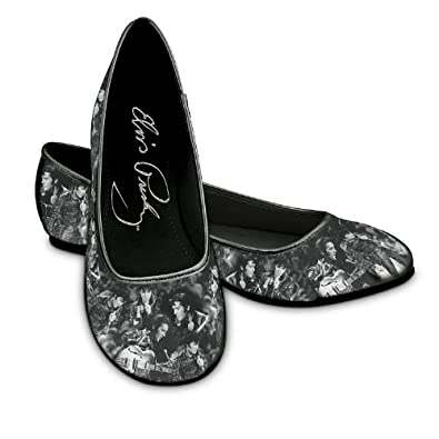 "Elvis Toe-Tappin' Ballet Flats"" Fashionable Shoes For Elvis Presley"