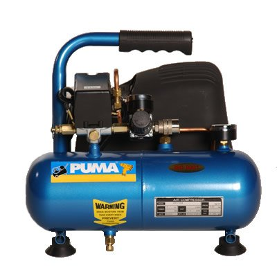 Puma 1 Gallon Portable Oil Free Hot Dog Air Compressor