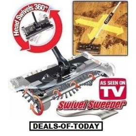 Best Review Of Cordless Swivel Sweeper - Original As Seen on TV by Swivel Sweeper