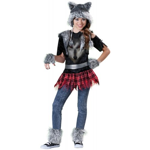 Incharacter Costumes Llc Werewolf Tween Costume Childs Medium