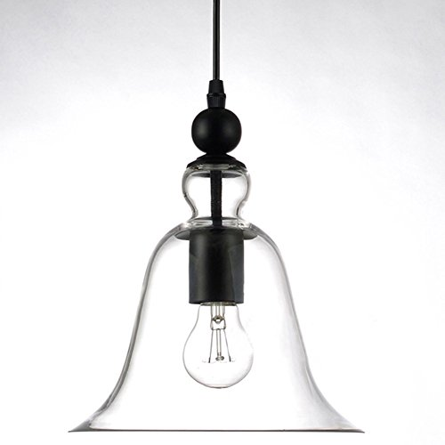 pop lighting hanging bell shade ceiling l glass pendent